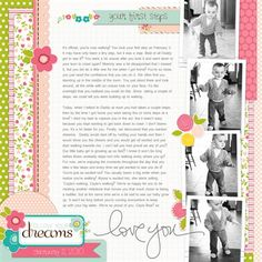 first steps - Club CK - The Online Community and Scrapbook Club from Creating Keepsakes