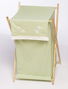 Green Dragonfly Dreams Laundry Hamper