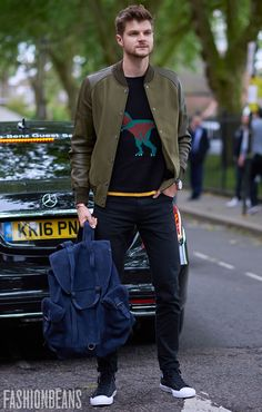 See the latest men's street style photography at Fashion Beans.