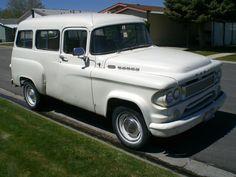 1961 Dodge Town Wagon 6 Passenger 2WD Half Ton Truck