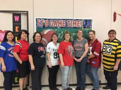 Lot's of fun for Super Bowl @ Marlowe Elementary!