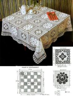 Tablecloth - Szydełkomania