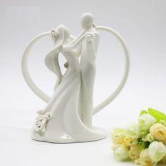 Topo de bolo para casamento - Noivinhos