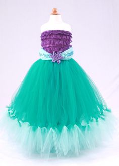 Princess Ariel - Mermaid Costume. I so think Im going to try this for Halloween if I cant find a cute Ariel costume.