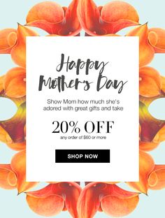 It's not too late to show Mom how much she is adored! You can still get her or yourself great gifts and get 20% OFF with any $60 order.  Use Code: MOM, this offer expires midnight tonight 5/8/16, Direct Delivery Only, Excludes Avon Living & Auto Replenish. #20%Off #MothersDay #Shopping #Avon #AvonRep
