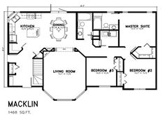 House plans on pinterest 82 pins for House plans 1400 to 1500 square feet