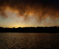 Cres sun is frightened Clouds, Celestial, Sunset, Outdoor, Sunsets, Outdoors, Outdoor Living, Garden, Cloud