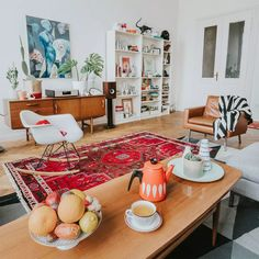 Planning For Home Decor Accessories - Diy Home decor Retro Home Decor, Diy Home Decor, 1960s Decor, Retro Apartment, Apartment Ideas, Romantic Living Room, Retro Living Rooms, Buy Chair, Leather Furniture