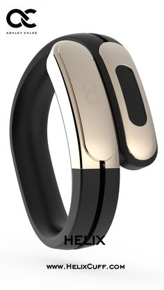 @ashleychloeinc Helix: The World's First Wearable Cuff with Stereo Bluetooth Headphones designed by Former Lead Industrial Designer at Nokia and Nest. Support innovative technology on Kickstarter or visit  www.ashleychloe.com