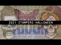 LIVE: Stampers Anonymous Halloween - YouTube Youtube Halloween, Stampers Anonymous, Distress Oxides, Tim Holtz, Cardmaking, Paper Napkins, Ranger, Stamps, Backgrounds