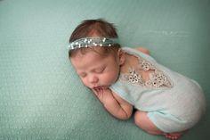 Newborn Lace Romper Newborn Outfit Newborn by EliseDeanneDesigns