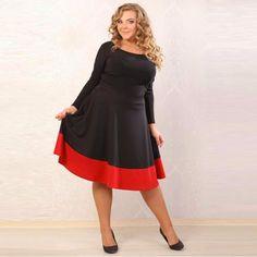 fashionable elegant Patchwork women ]ress  #womenfashion #CUTE