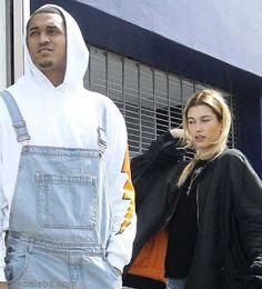海外セレブスナップ | Celebrity Style: 【ヘイリー・ボールドウィン】ボンバージャケットのキュートな着こなし!ケンダルと噂のあったNBA選手と...