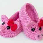 15 Easy To Make Crochet Baby Animals Slippers | DIY to Make