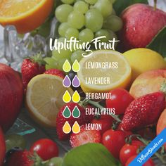 Uplifting Fruit - Essential Oil Diffuser Blend