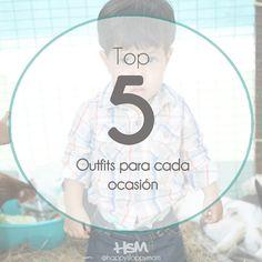Top 5: Outfits para cada ocasión - Happy Sloppy Mom