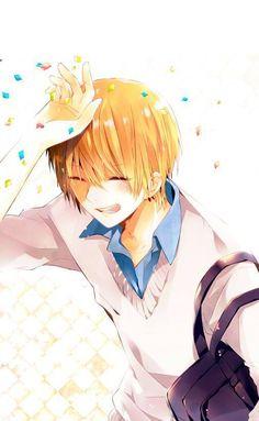 kise smile....*.*