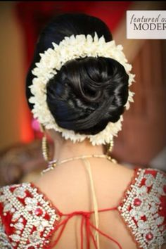 My bridal hair!