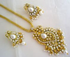 vintage indian pearl jewelry