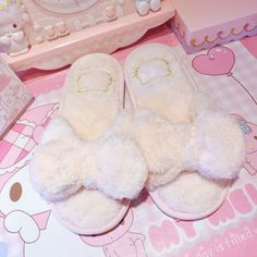 Velvet Cami, Cute Sleepwear, Cute Slippers, Hello Kitty Collection, Kawaii Room, Gift Wrapping Services, Kawaii Clothes, Cute Pink, Cute Shoes