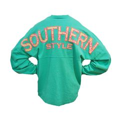 Palmetto Moon | Southern Style Bow Tie Long Sleeve Spirit Jersey | Palmetto Moon