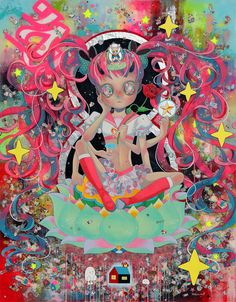 "Supersonic Art: Hikari Shimoda's""Memento Mori"" at Corey Helford..."