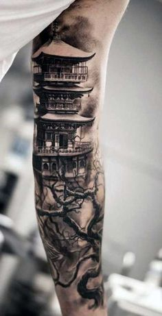 no braço Tattoos Masculinas, Asian Tattoos, Black Tattoos, Body Art Tattoos, Tattoos For Guys, Cool Tattoos, Tattos, Japanese Tattoo Designs, Japanese Sleeve Tattoos