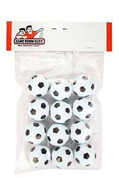 Set of 12 Soccer Ball Style Foosballs for Tornado Dynamo or Shelti Tables -- Details can be found by clicking on the image.(It is Amazon affiliate link) #commentbackteam