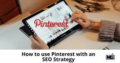 How to use Pinterest in your overall SEO strategy to generate leads and drive traffic to your site. 4 quick steps to get you started. Seo Strategy, Business News, Lead Generation, Being Used, How To Get, Led