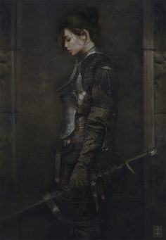 """sciencefictionally: """"The Squire by Eve Ventrue """""""