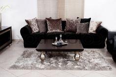 moderne wohnzimmer couch moderne schwarze stoff couch wohnzimmer stock foto colourbox moderne wohnzimmer couch