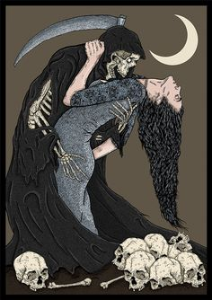 A Dance With Death on Behance