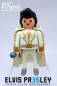 Elvis Presley Playmobil Figure Little Boy And Girl, Little Boys, Boy Or Girl, Elvis Presley, Picture Story, Niece And Nephew, Legoland, Cultura Pop, Special People