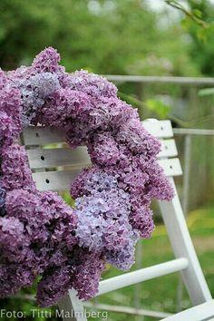 Lilac Wreath ....