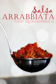 Salsa arrabbiata - a *hot* tomato, chili and garlic salsa, great on pasta with a sprinkling of parsley and peccorino Salsa Tomate, Tahini Dip, Hot Salsa, Pizza Sandwich, Homemade Lasagna, Vegetarian Recipes, Healthy Recipes, Food Obsession, Sauces