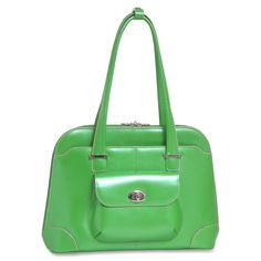 """McKleinUSA Avon Carrying Case (Briefcase) for 15.4"""", Notebook - Green Leather http://www.officediscountclub.com/Products/McKleinUSA-Avon-Carrying-Case-(Briefcase)-for-154--Notebook---Green__MCK96651.aspx"""