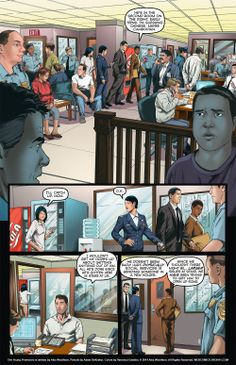 The Young Protectors: Engaging The Enemy Bonus Comic One—Page 5 - Yaoi 911 Webcomics