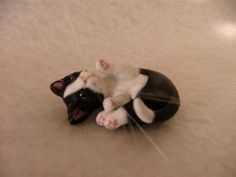 polymer clay cat!