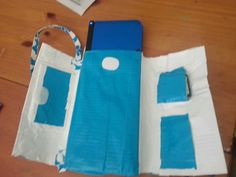 Nintendo 3DS case made using duct tape - DIY duct tape trending overseas big time!!