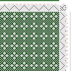 Hand Weaving Draft: Page 121, Figure 16, Donat, Franz Large Book of Textile Patterns, 6S, 6T - Handweaving.net Hand Weaving and Draft Archive - Point Draw