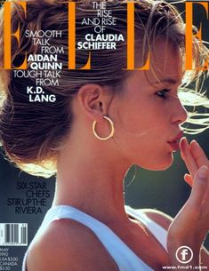 Elle,May 1992 Best ever Claudia Schiffer cover