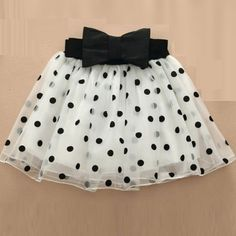 New Arrival Dotted Pleated Ball Gown Mini Skirts on buytrends.com