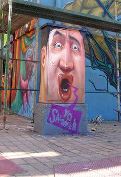 Street art | Mural by Macs