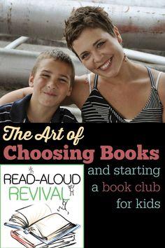Choosing the best read aloud books :: Read Aloud Revival