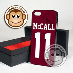 Teen Wolf McCall lacrosse for iPhone 4/4s, 5, 5s, 5c and Samsung Galaxy s3 and s4 Case by MOMONKEYHEAD on Etsy