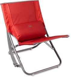 Kick back, relax and enjoy the outdoors with this REI Comfort Low Chair.