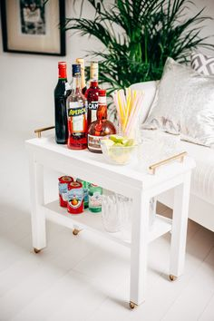 Nornas Ikea Hack - turned into a bar cart | Small House