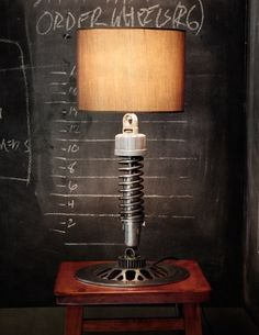 Your last chance to grab a Classified Moto recycled motorcycle parts lamp for $199—the price goes up to $229 in November 2012.