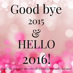 2016 will be a very good year!