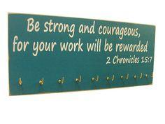inspirational bible verse running medals by runningonthewall, $28.99